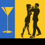 Cocktail Dance — Stock Vector