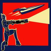 Rocket Power — Stock Vector