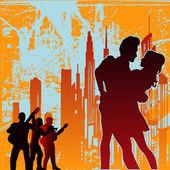 Urban Tango — Stock Vector