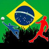 Brasile 2014 — Vettoriale Stock