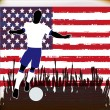 Stock Vector: Football USA