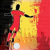 Football Belgium — Stock Vector