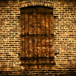 Stock Photo: Old Grungy Brick Wall