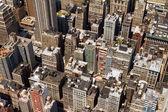 建築物背景テクスチャ ニューヨーク — ストック写真