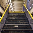 Stairs Exiting Subway Station — Stock Photo