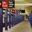 Stock Photo: 21st Steet - VAlst Subway NYC