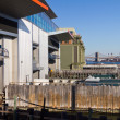 Staten Island Ferry Docks - Stock Photo