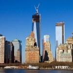 Manhattan Skyline in New York City — Stock Photo
