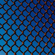 Royalty-Free Stock Photo: Chain Link Fence Background Pattern