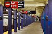 21st Steet - Van Alst Subway NYC — Stock Photo
