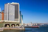 Staten Island Ferry Manhattan — Stock Photo