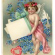 Vintage Love Greeting Card — Stock Photo