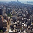 New York City - Downtown Manhattan Skyline — Foto de Stock