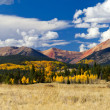 Colorado Rocky Mountain Fall Panoramic Landscape — Stock Photo