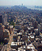 New York City - Downtown Manhattan Skyline — Zdjęcie stockowe