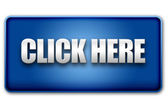 Click Here 3D Blue Button on White Background — Stock Photo