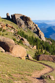 Hiking Trail in the Colorado Rocky Mountains — Stock Photo
