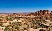 Panoramic Desert Canyon Landscape — Stock Photo