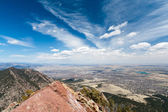 Aerial View of Boulder, Colorado — Stock Photo