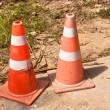Traffic cones. — Stock Photo