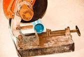 鋼の切削 — ストック写真