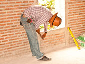 Construction work. — Stock Photo