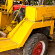 Yellow tractor — Stock Photo #12847181