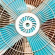Stock Photo: Electric fan.