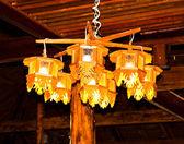 Hanger met verlichting. — Stockfoto