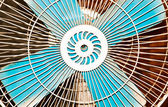 Electric fan. — Stock Photo