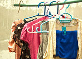 Clothesline. — Stock Photo