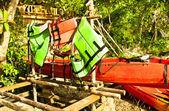 Kayaking. — Stock Photo
