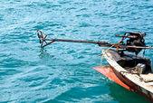 Boat engine. — Stock Photo