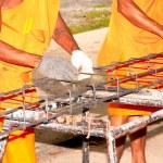 Monk working. — Stock Photo #15241043