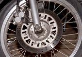 Motorcycle Wheel — Stock Photo