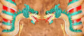 Dragon standbeeld. — Stockfoto