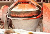 Concrete mixer. — Stock Photo