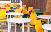 Dining table. — Stockfoto