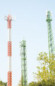 Modern antenna Tower  — Stock Photo
