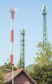 Modern antenna Tower  — Stock Photo