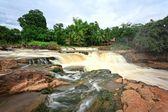 Waterfall in north of Thailand — Stock Photo