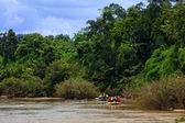 Rafting in the river in north of Thai — Stock Photo