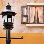 Street lamp and window — Stock Photo #14861125
