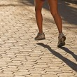 Stock Photo: Runner in morning light