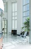 Corner in modern office — Stock Photo