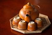 中国風のお茶セット — ストック写真