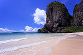 Clear water in thai sea — Stock Photo