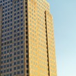 High building in golden sunlight - Foto de Stock