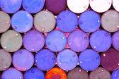 Pile of oil tanks — Stock Photo