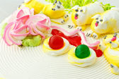 Beautiful cake decoration — Stock Photo